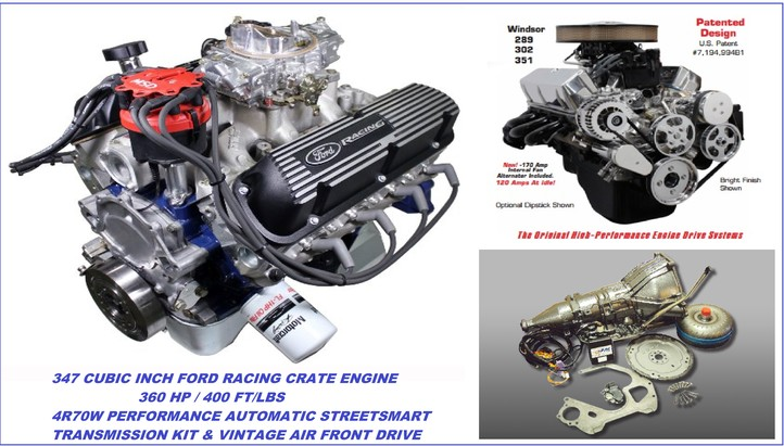 engine type: 302 based small block ford